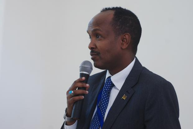 Dr Mukthar Ogle, Senior Advisor on Strategic Initiatives for Arid and Semi-arid Lands, Executive Office of the President of Kenya (photo:Leela Channer)