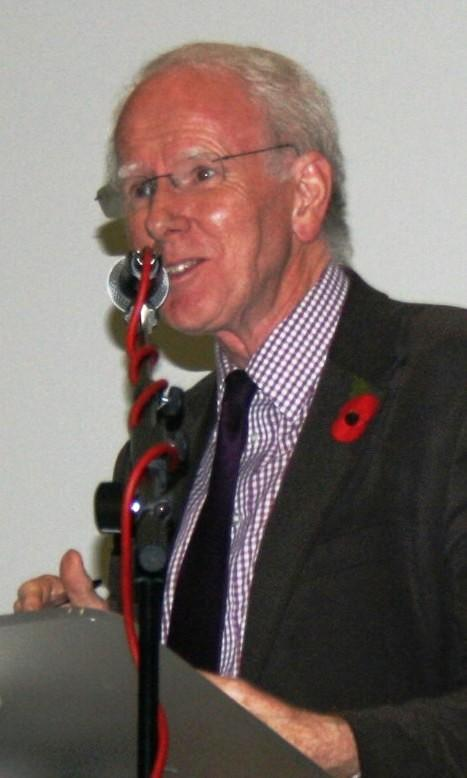 BBC World Affairs Correspondent Mike Wooldridge, chairing