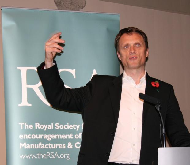 RSA Chief Executive, Matthew Taylor