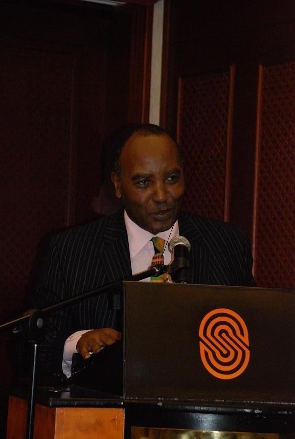 Permanent Secretary Francis Kimemia