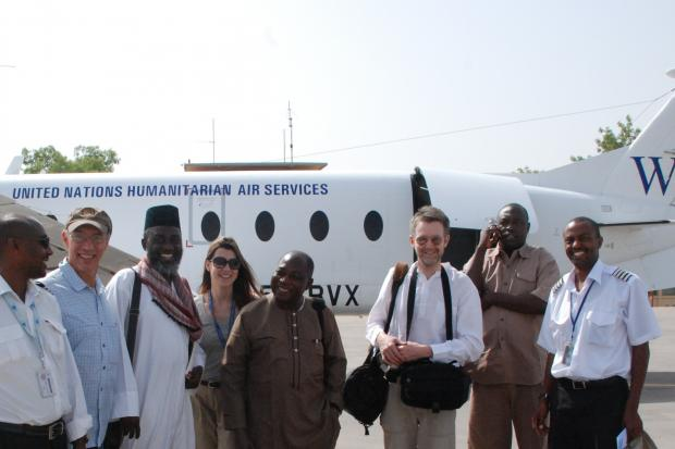 The team arrives in Abéché, eastern Chad