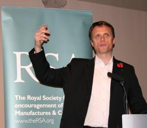 RSA Chief Executive, Matthew Taylor (Photo: Louise Jefferson)