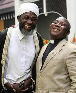 Imam Ashafa and Pastor Wuye in Malaysia (Photo: The Star)